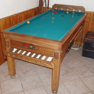 russian billiard table